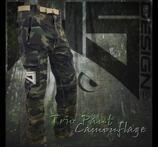 Pant TRIO HS Camouflage