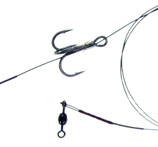 Owner Pike Rig Twin Treble ST36 Strl 4, 20lb, 2-pack